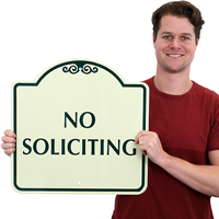 No Soliciting SignsatureSigns™~
