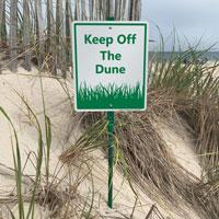 Dune LawnBoss® Sign & Stake Kit