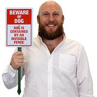 Lawn Puppy 7x10 Sign Details