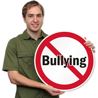 No Bullying, Security Signs