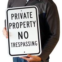 Private Property Parking Sign
