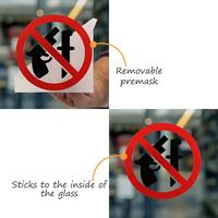 Die Cut Glass Window Decal