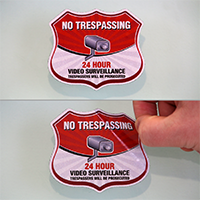Trespassers Will Be Prosecuted Label