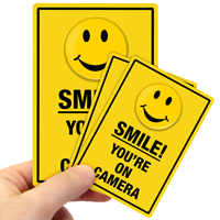 Smile! You're On Camera Label