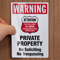 Private Property Label Set