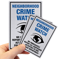 Report All Suspicious Activities To Police Label