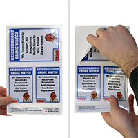 Report Suspicious Activities Label Set