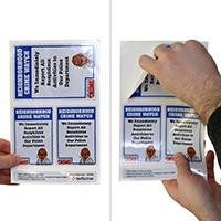 Report Suspicious Activities Label Set
