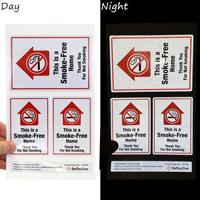No Smoking Label Set