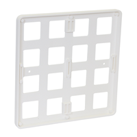 Molded Plastic Sign Holder,9in. x 9in.