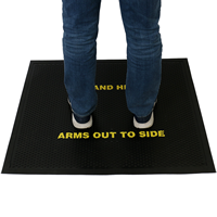 Stand Here, Arms Out To Side