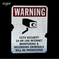 Cctv Security 24 Hour Sign