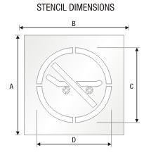 Stencil ST 0323