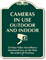 Cameras In Use Outdoor Indoor, Surveillance Sign
