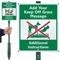 Custom Keep Off Grass LawnBoss Sign