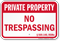 Missouri Private Property Sign
