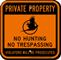 No Hunting No Trespassing Violators Prosecuted Sign