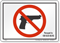 Illinois Gun Control Law Sign