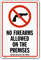 Missouri Firearms And Weapons Law Sign