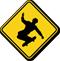Skateboarding Symbol Sign