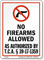 Tennessee Gun Control Law Sign